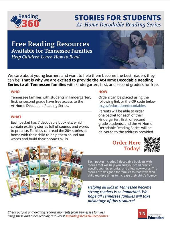 Information about decodable readers