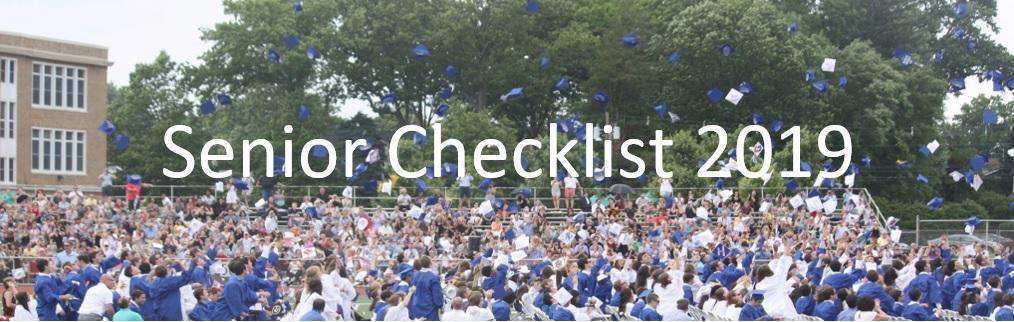Senior Checklist 2019