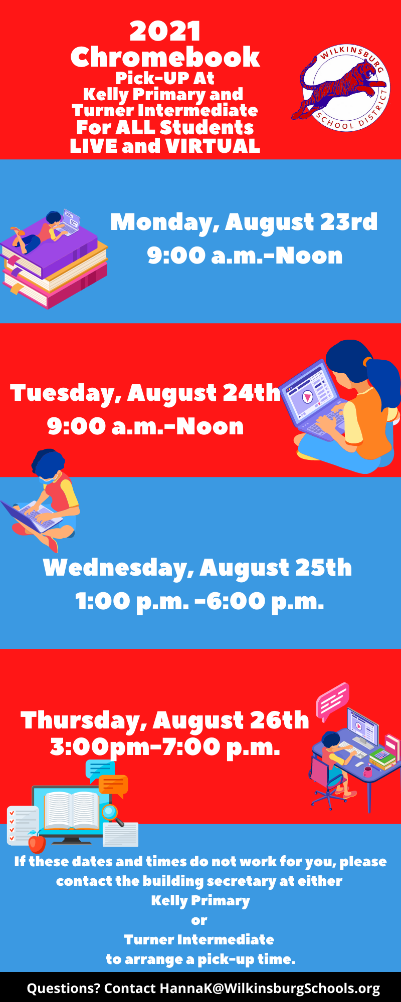 Chromebook Dates and TImes