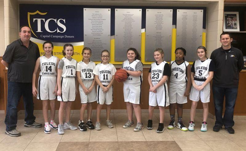 Jr. girls basketball