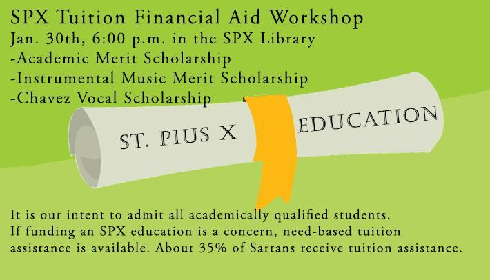 SPX Tuition Financial Aid Workshop Featured Photo