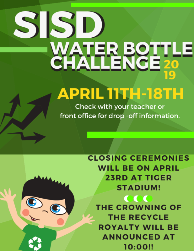 SISD Water Bottle Challenge 2019 Featured Photo