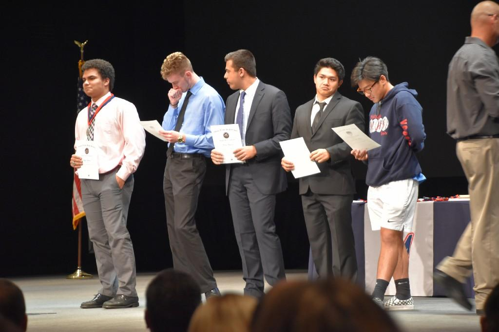 Senior award winners
