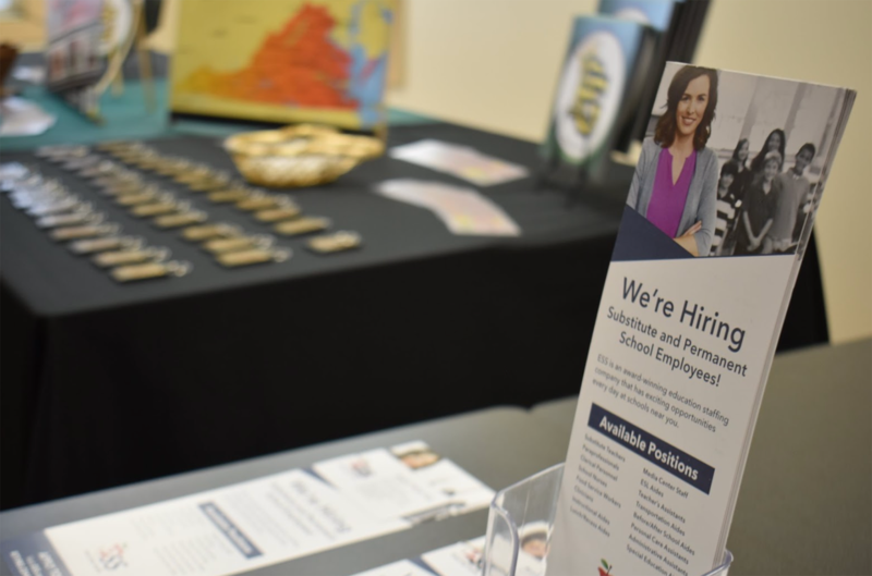 A flier advertises job openings available during the 2020 SSEE event.