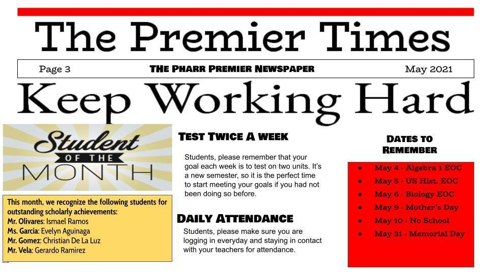 The Premier Times--Page3