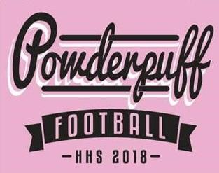 Powderpuff T-shirt design (pink).