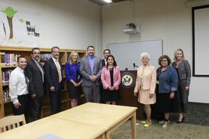 US Reps Visit Bassett Unified