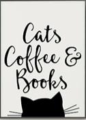 Cats, coffee, & books
