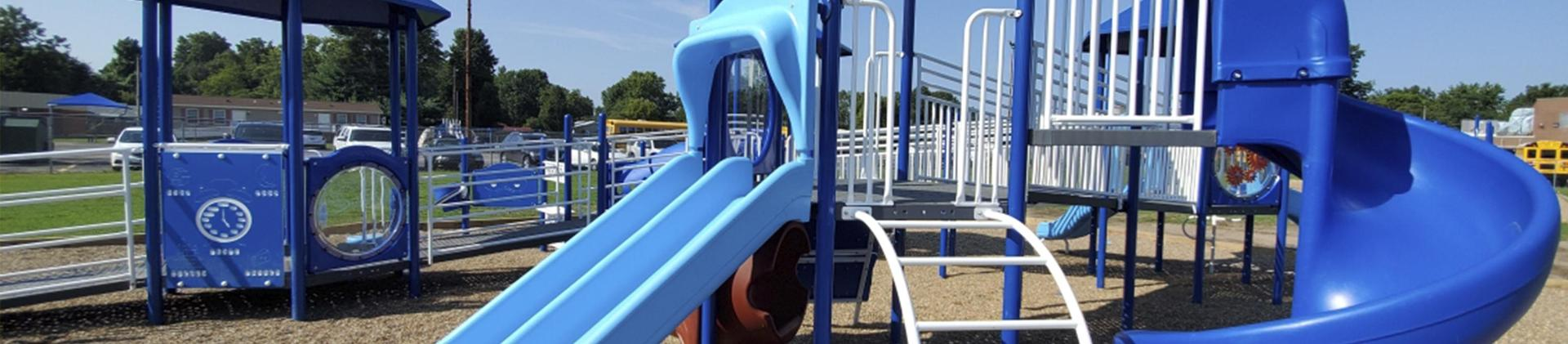 Accessible Playground Equipment at Hearnes Elementary