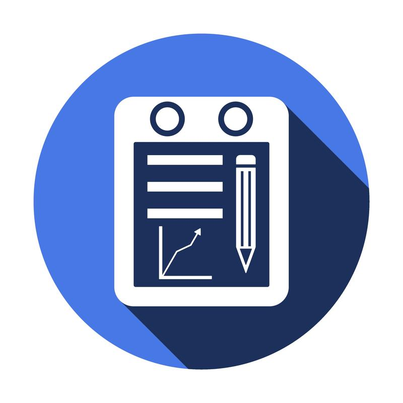 Icon for a tablet device