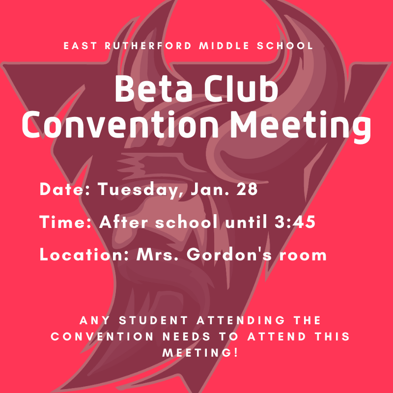 Beta Club Convention Meeting Featured Photo