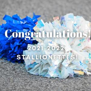 congratulations stallionettes