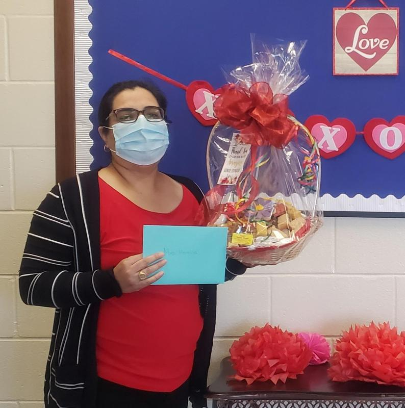 Counselor Appreciation Week--Thank you Mrs. Herevia! Thumbnail Image