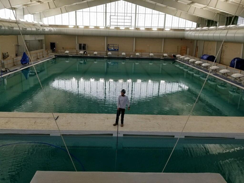 New Aquatic Center at TMHS