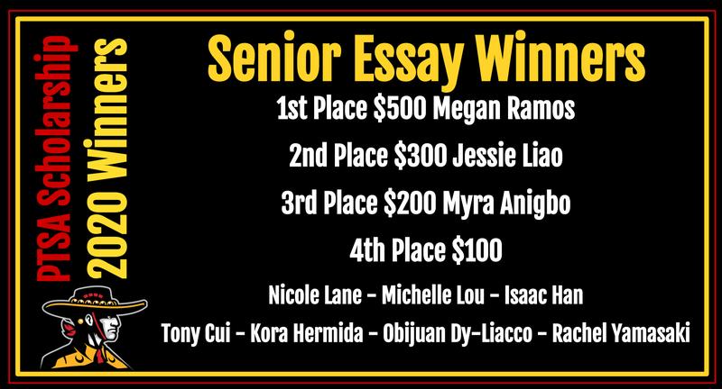 Senior winners