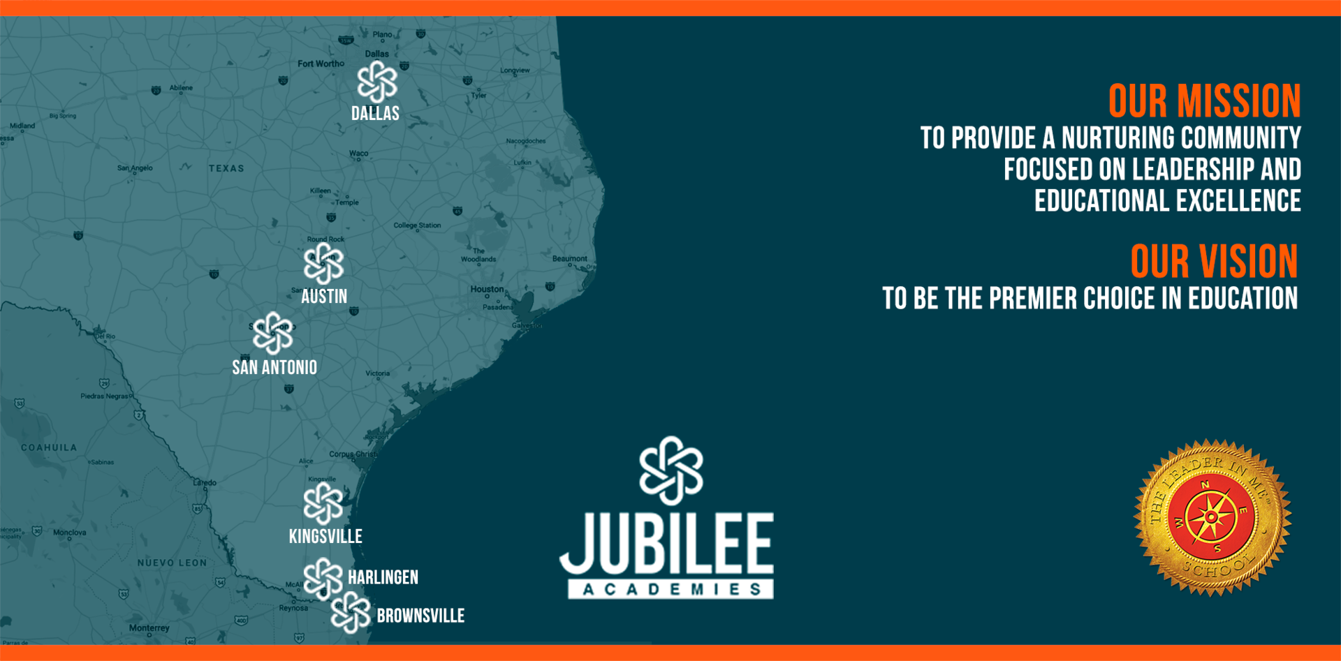Jubilee Academies Locations