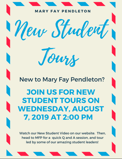 New Student Tours! Featured Photo