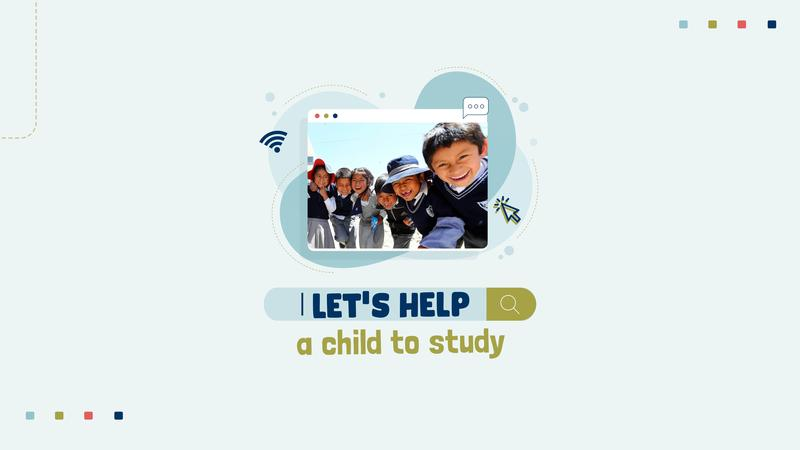 Campaña solidaria: Let's help a child to study Featured Photo