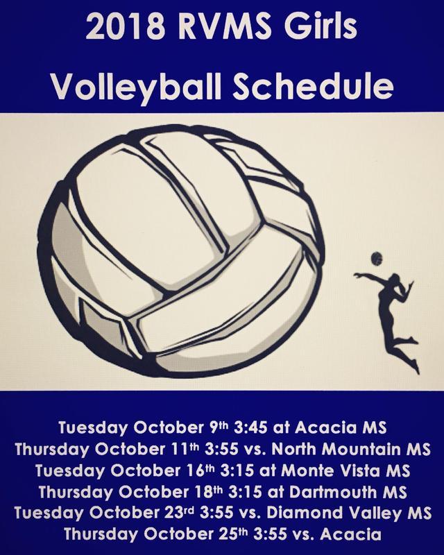 Girs Volleyball Schedule