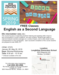 free classes english as a second language