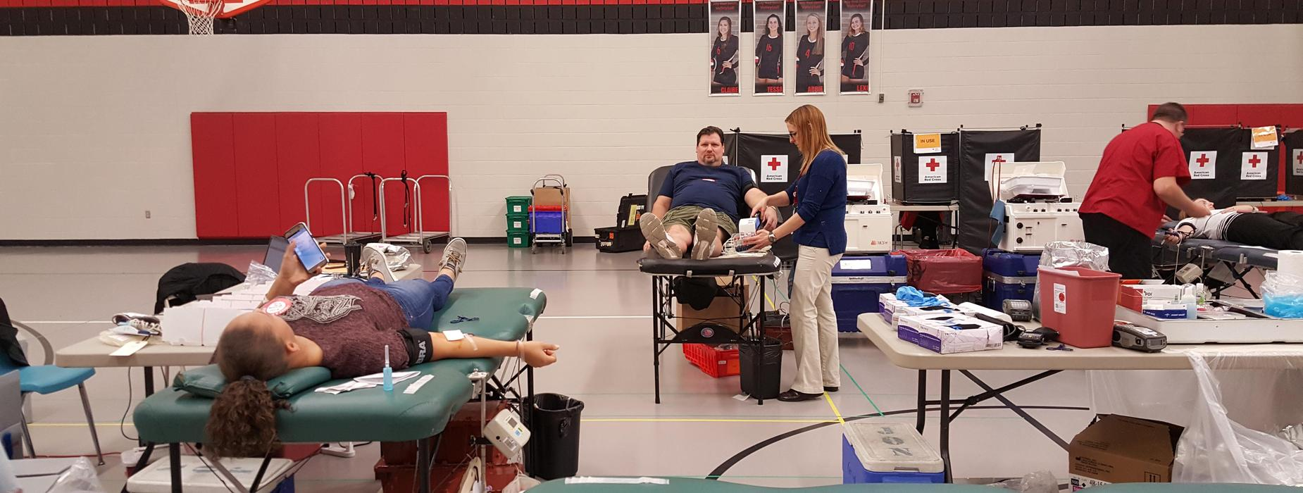 photo of blood drive