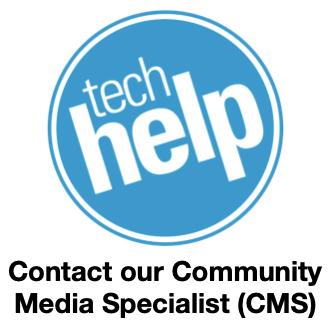 CMS help icon