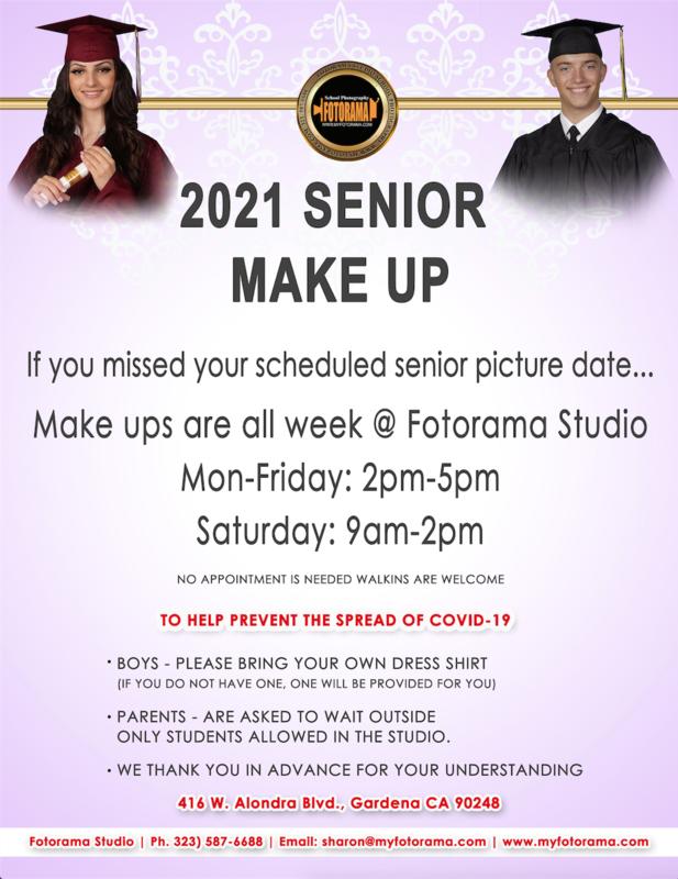 2021 Senior Make-up Portraits
