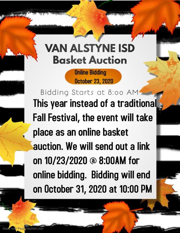 Fall Festival Basket Online Auction Thumbnail Image