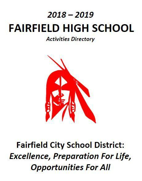 FHS Using New Format for Activities Directory Featured Photo