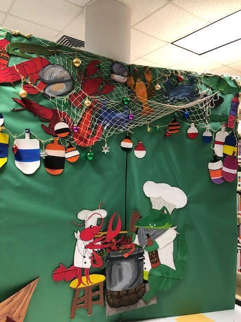Cajun Christmas Display