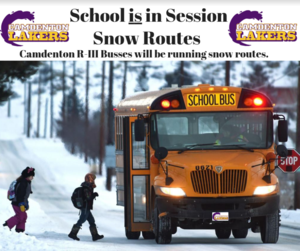 Snow Routes - Monday January 13, 2020 Featured Photo
