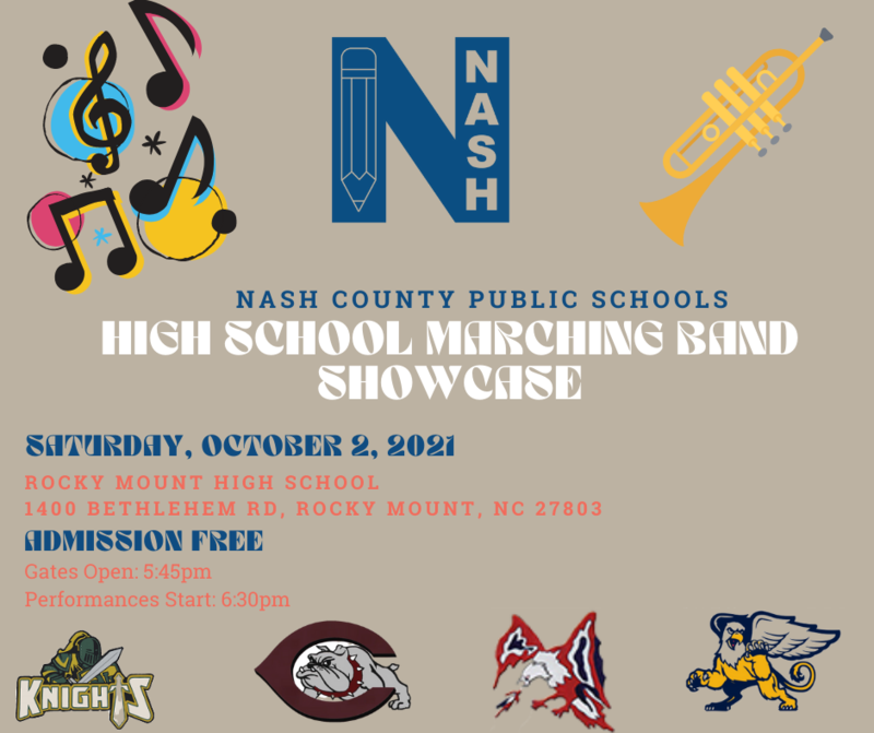 Marching Band showcase flyer
