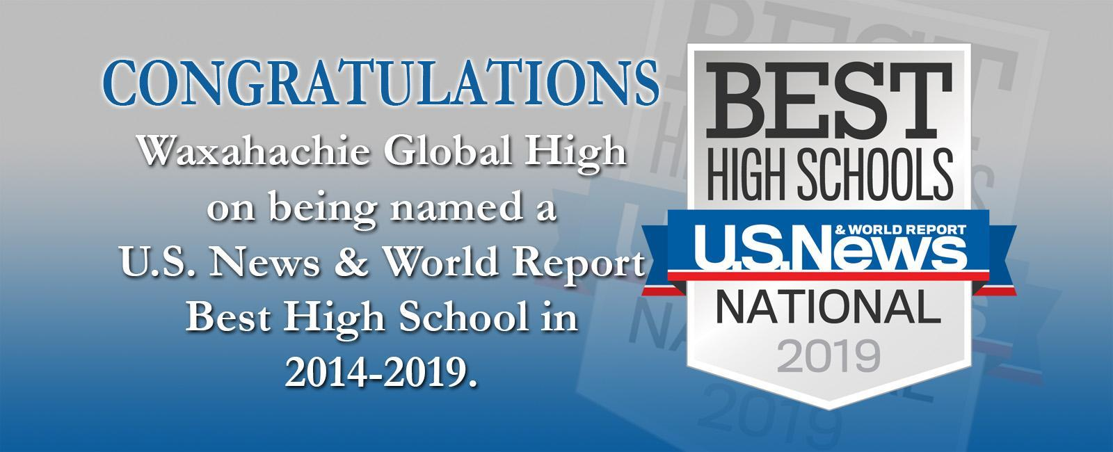 Global HS best high school in 2019