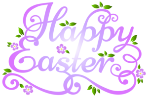 Easter clip art--2  purple.png