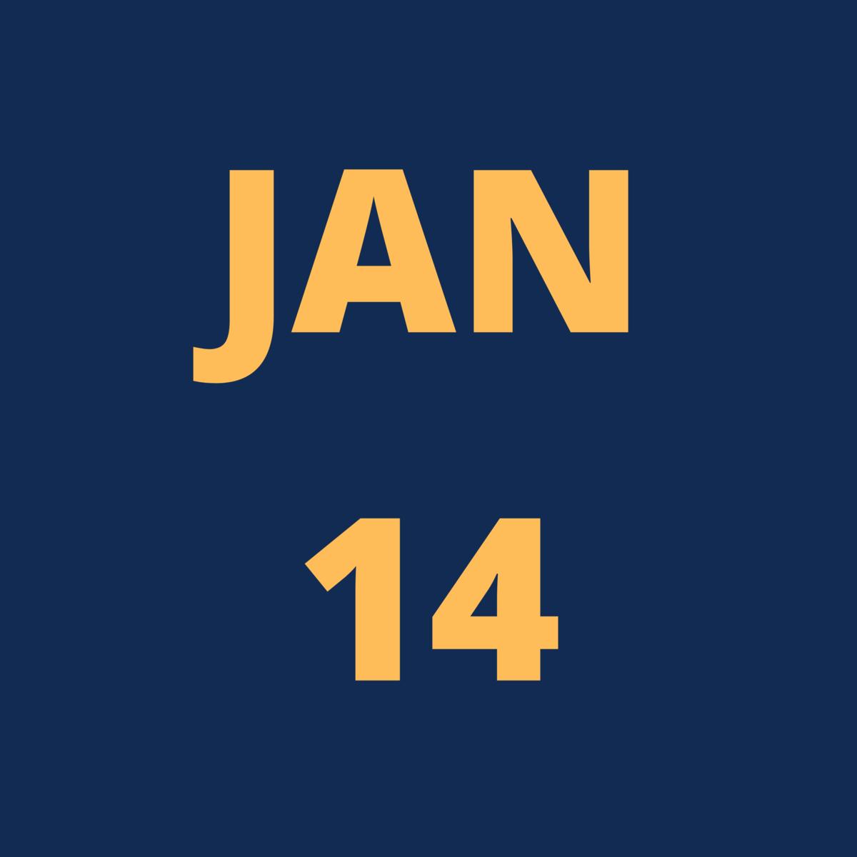 Jan 14 Icon