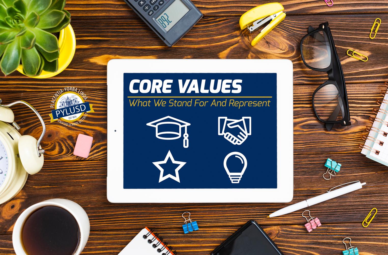 Core Values in PYLUSD.