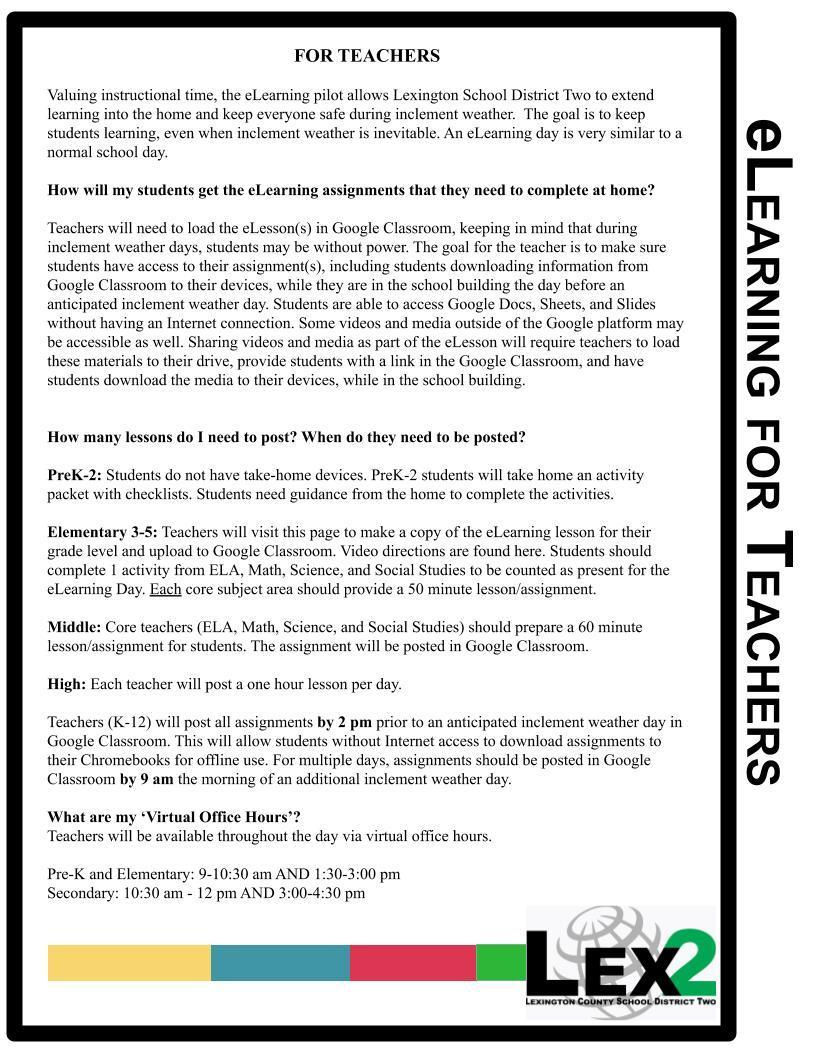 eLearning for Teachers page 2