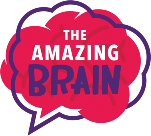 Logo for amazing brain