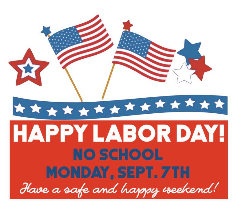 No School Monday Sept. 7th Labor Day Featured Photo