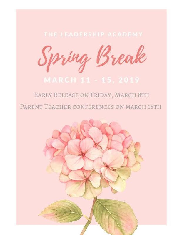 Spring Break / Parent Teacher Conference Featured Photo