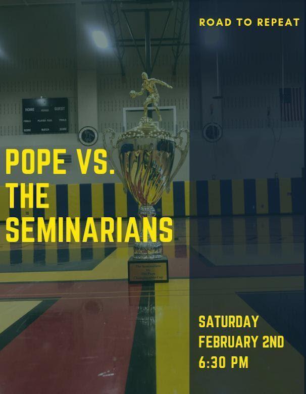 2nd Annual Seminarians vs. The Pope (Feb. 2) Thumbnail Image