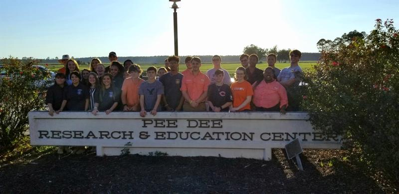 Future Farmers of America members attend workshop Featured Photo