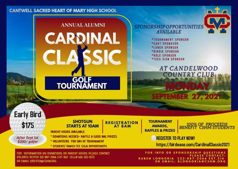 Cardinal Classic Golf Tournament Sept 27th - Candlewood Country Club Thumbnail Image