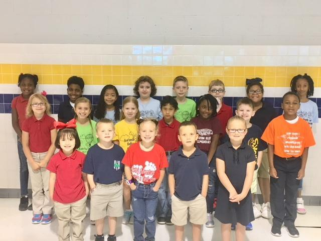 August Star Students