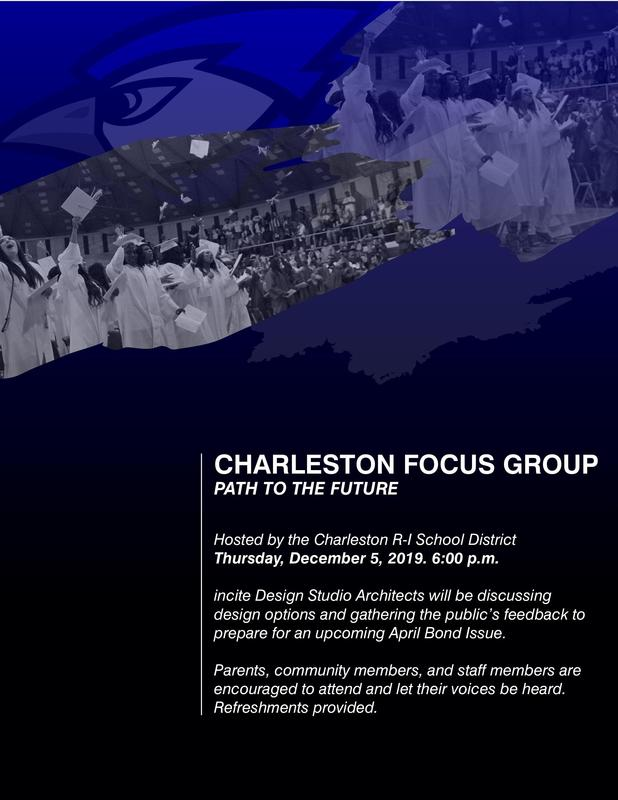 Charleston Community Meeting flyer