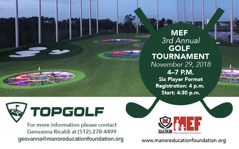 MEF 3rd Annual Golf Tournament Thumbnail Image
