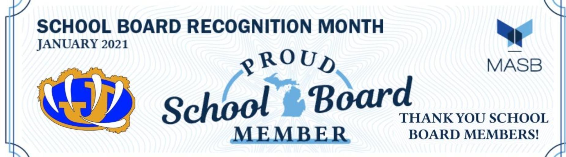 Thank you school board!