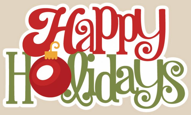 Happy Holidays Graphic