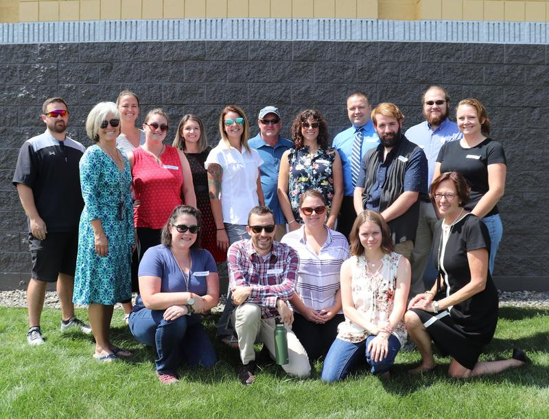 group pic of new teachers