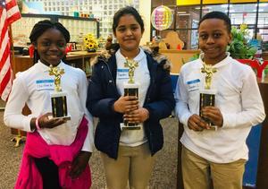 SME Spelling Bee Winners